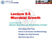 06-1 Lecture 5-2 Microbial Growth