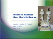 Divorced Families Over the Life Course