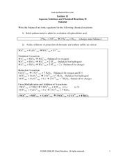 Eq II Tutorial - www apchemsolutions com Lecture 16