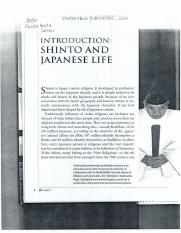 Shinto and Japanese Life