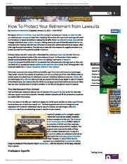 How To Protect Your Retirement from Lawsuits _ Investopedia.pdf