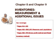 Chapters 8 and 9_Inventory