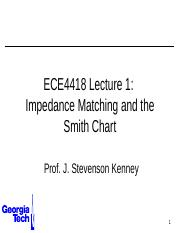 ECE4418+Lecture+1+-+Impedance+Matching.pptx