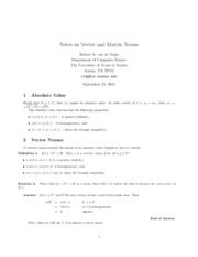 NotesOnNorms
