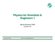 PHY183-Lecture23