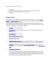 Radical Religious Motivations for Terrorism. Page Setup.docx