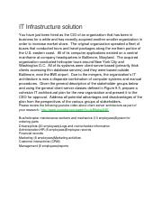 18 IT Infrastructure solution.doc