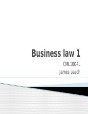 Buslaw 1 - Part A _1_ -  Introduction, What is Law _ Sources of Law.pptx