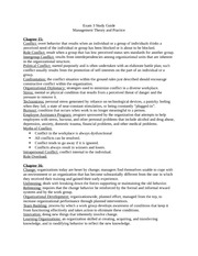 MGMT Exam 3 Study Guide