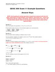 Exam II Example Questions Answer Kyes.pdf