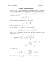 MATH 151 Fall 2014 Assignment 20 Solutions