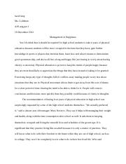 Research Paper, Essay 13