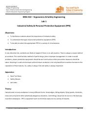 Lab 1 - Industrial Safety & PPE (Samahat).pdf