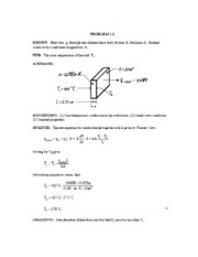 MECH596HeatTransfer_HomeworkSolutionChp1