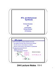 rtl and behavioral synthesis notes.pdf
