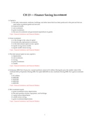 CH_23_Finance_Saving_Investment