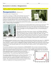 Economics in Action -  Reaganomics and Great.docx