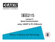 Lecture_03 - Serial Communication