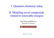 CHEM 4502 - Research Lecture Overhead - 2012