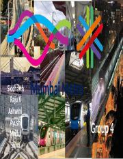 Group 4_Mumbai Metro