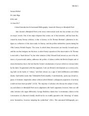 ENG440 Annotated Bib & Critical Introduction .docx