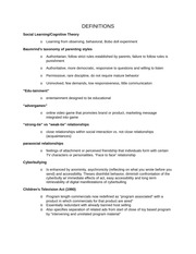 COMM4330 FINAL STUDY GUIDE