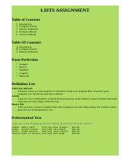 Lists Assignment.html