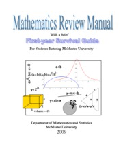 MathReviewManual