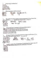 chemistry eight review questions