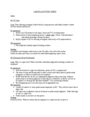 LABOR LAW STUDY SHEET-1