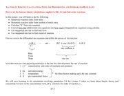 How to Perform Kinetics calculations with differential and integrated rate laws