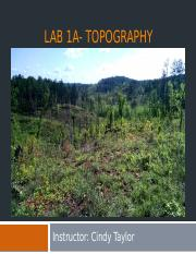 Lab 1a- topography.pptx
