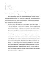 Simulation Written Report::Nicolette Simitian.docx
