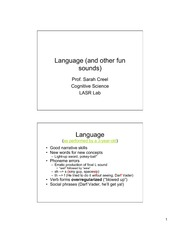 4.Learning Language