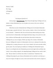 dialectical journals docx natalia martinez ap english iii  3 pages response essay natalia martinez docx