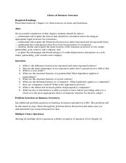 Tutorial7_WorkSheet_Choice of Business Structure