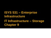 08-IT Infrastructure - Chp 9