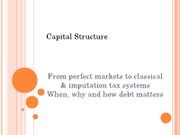 Lect  7 Capital Structure 1 (1)