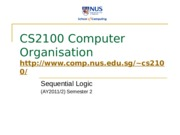 cs2100-8-Sequential-Logic