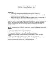 Global venture idea submission instruction-1.doc