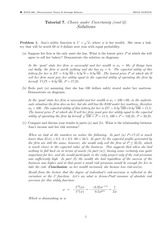 ECON 302 Fall 2014 Tutorial 7 Solutions