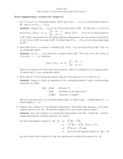 Exam 2 Review Solutions