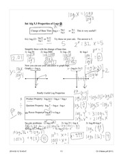 Ch 5 Log Properties day1 Completed Notes