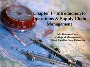 Class 2 - Intro to Ops and SCM - Chapter 1