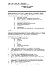 BUSI 1301-UNIT1 Study Guide-Chapters 1-6.doc