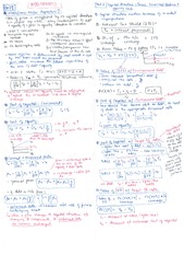 FIN 503 Midterms Formula Sheet