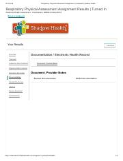 Respiratory Physical Assessment Assignment _Documentation Completed _ Shadow Health.pdf