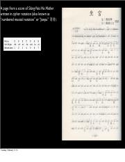 notation&musical systems