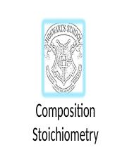 Composition Stoichiometry A.ppt