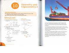 Ch. 10 - Geometry and Trigonometry 2